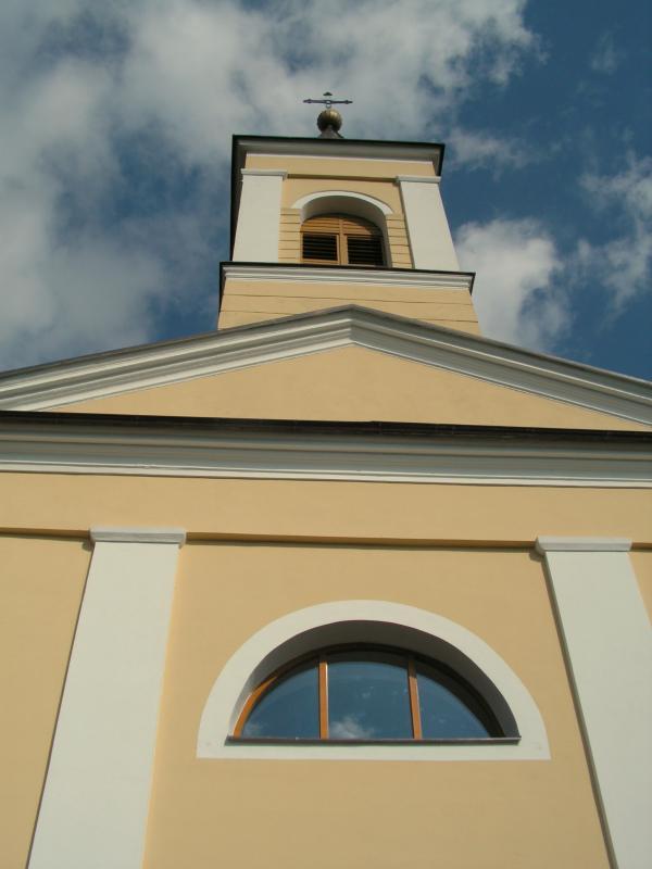 Chrám sv. Jiljí z roku 1820; foto převzato z: http://www.kretin.eu/?MI=12&AR=1118